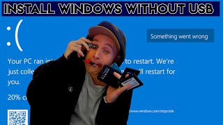 Install Windows Without USB BOOTSECT