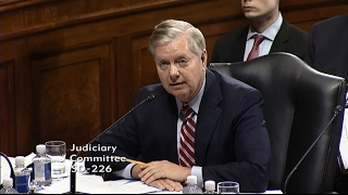 Graham Speaks Before Committee Vote on Sessions
