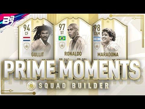 FULL PRIME MOMENTS ICON SQUAD BUILDER! | FIFA 19 ULTIMATE TEAM