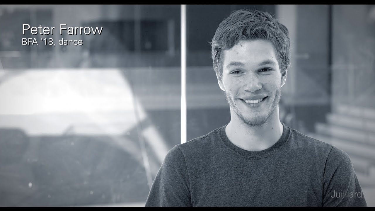 Juilliard Snapshot: Peter Farrow's First Days at Juilliard