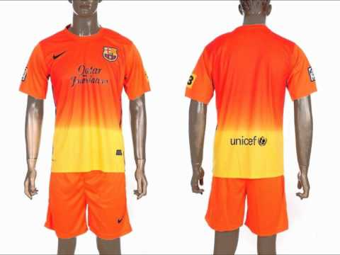 FC Barcelona New Kits For 2012/2013 Season