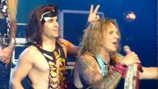 Steel Panther - Fat Girl (Thar She Blows) (Live @ The Manchester Academy, UK, March 2012) [HD]