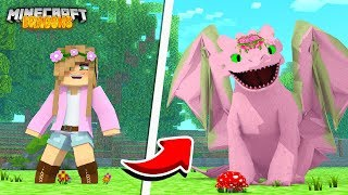 LITTLE KELLY BECOMES A NIGHT FURY! | Minecraft Dragons