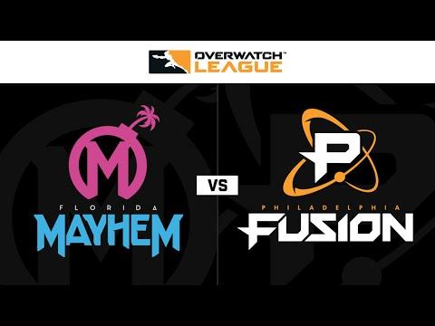 Philadelphia Fusion vs Florida Mayhem vod