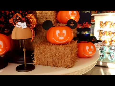 Disney's Magic Kingdom - Halloween Merchandise Shopping at the Emporium