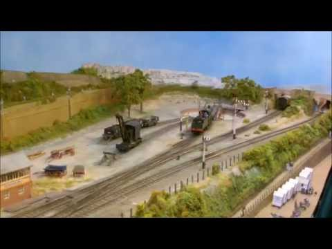 Burgess Hill Model Railway Exhibition 2014 (HD)