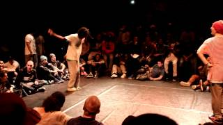 SDK EUROPE 2012(PARIS) - 1/2 FINALE HIPHOP ♂ - ICEE VS TONBEE - Hkeyfilms