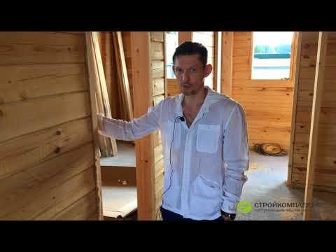 Дом из профилированного бруса естественной влажности спустя полгода - умеем строить
