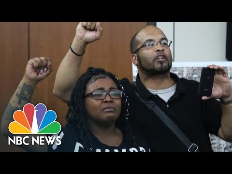 Family Members Of Man Shot In Minneapolis: 'We Came For Justice' | NBC News