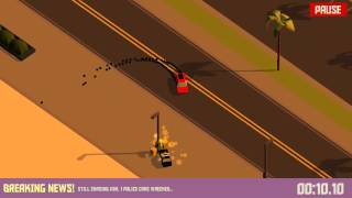 Pako Car Chase Simulator Beach Gameplay