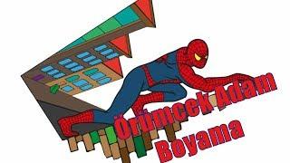 örümcek Adam Boyama Leisurelv