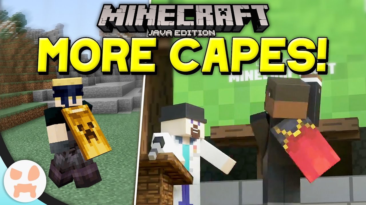 NEW CAPES + BIG ACCOUNT CHANGES!  Minecraft Update News
