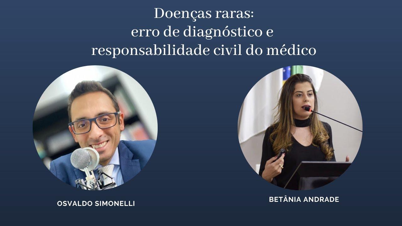 Doenças raras:  erro de diagnóstico e  responsabilidade civil do médico