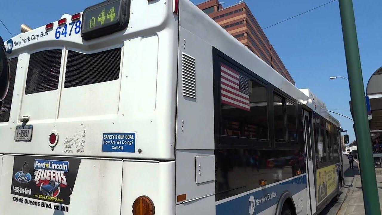 MTA New York City Bus: Orion 07.501 OG HEV #6478 Q44 Limited @ Archer  Avenue & 153rd Street! - YouTube