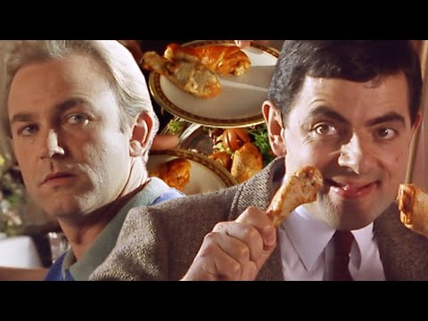 Bean Food Fight! | Funny Clips | Mr Bean Official