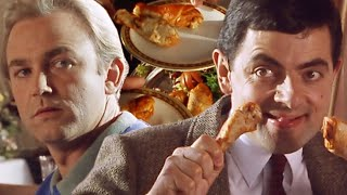 Bean Food Fight  Funny Clips  Mr Bean Official
