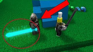 HE USED A HACKED GOD WEAPON! (Roblox Bedwars)