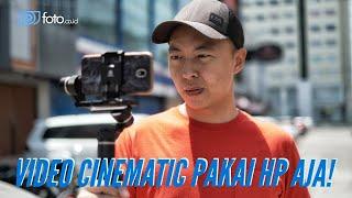 Download Lagu Cara Rekam Video Cinematic Pakai HP Aja | Tips Syuting Video Keren dengan Handphone mp3