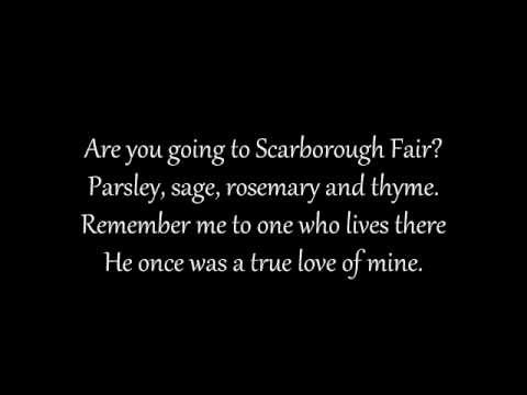 Scarborough Fair Lyrics
