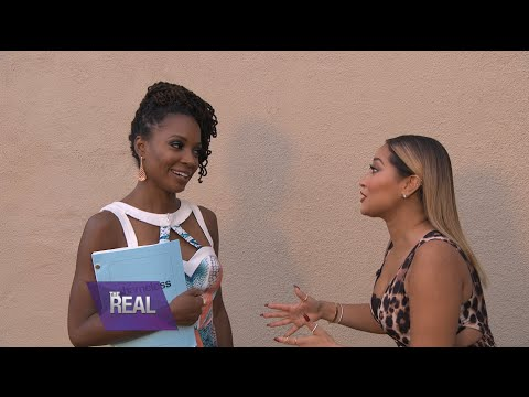 Shanola Hampton Joins 'The Real' Table