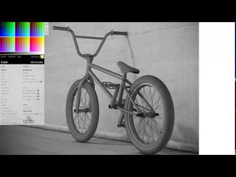 Pagina para dise ar el color de tu bmx youtube for Paginas para disenar