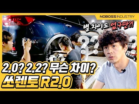 2.0 ?? 2.2 ?? What is different ?? Kia 2019 Sorento R 2.0 lower body review