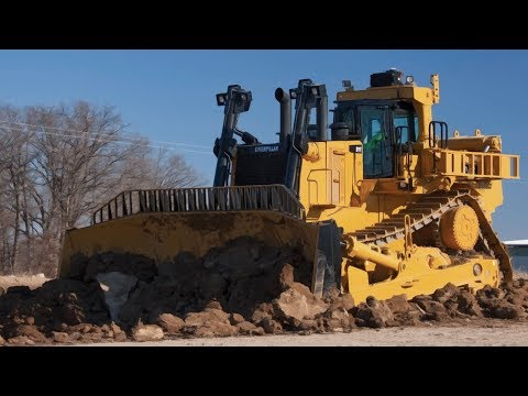 5 Extreme Biggest CAT KOMATSU  LIEBHERR   Largest Bulldozers In The World !