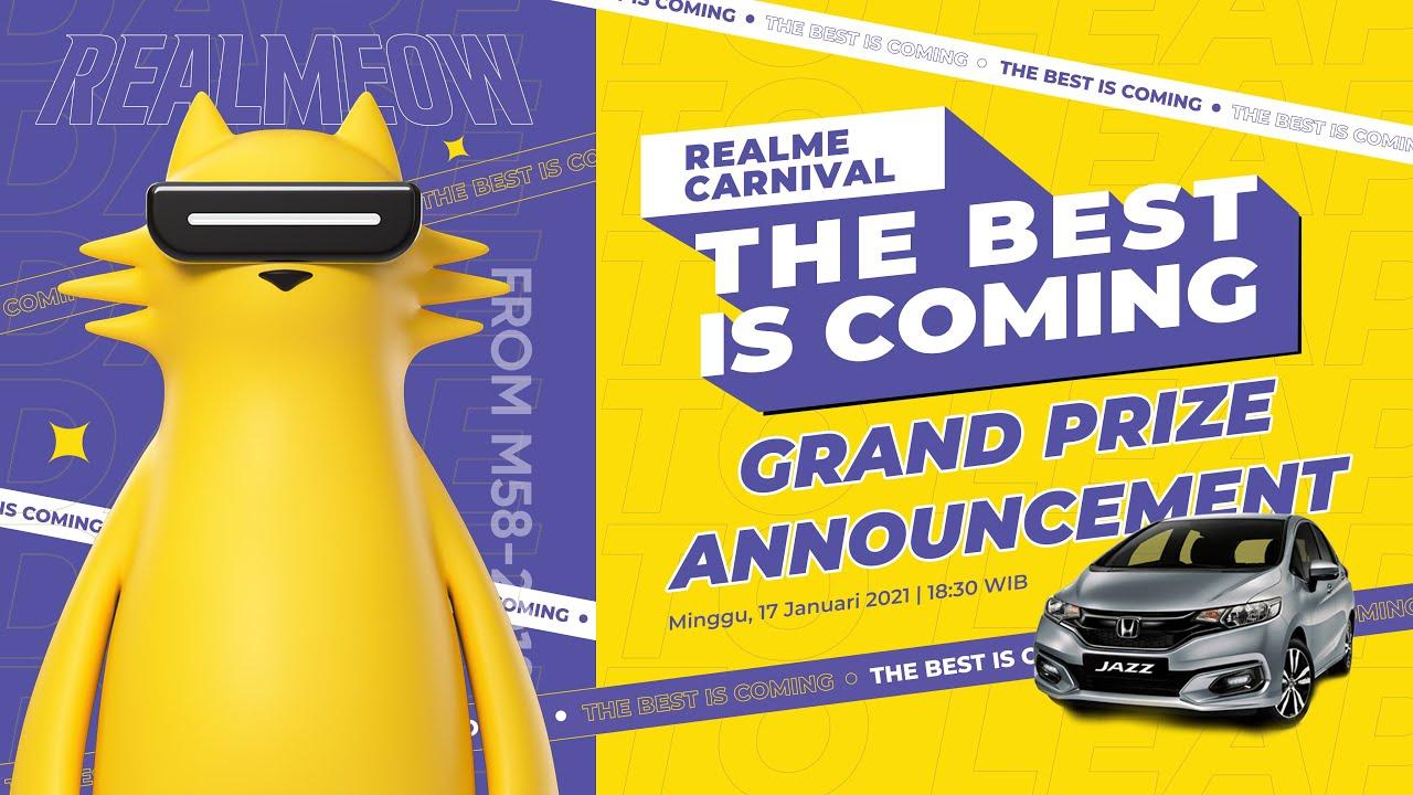 Pengumuman Pemenang Mobil - The Best Is Coming