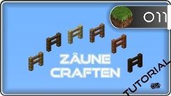 Minecraft Zaun craften | CLM