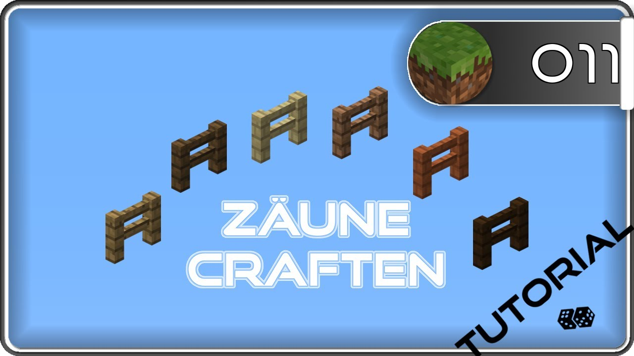 Minecraft Zaun Craften Clm Youtube