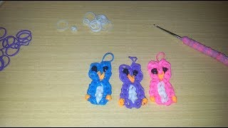 Repeat youtube video ♥ Tutorial: búhos de gomitas (sin telar) ♥