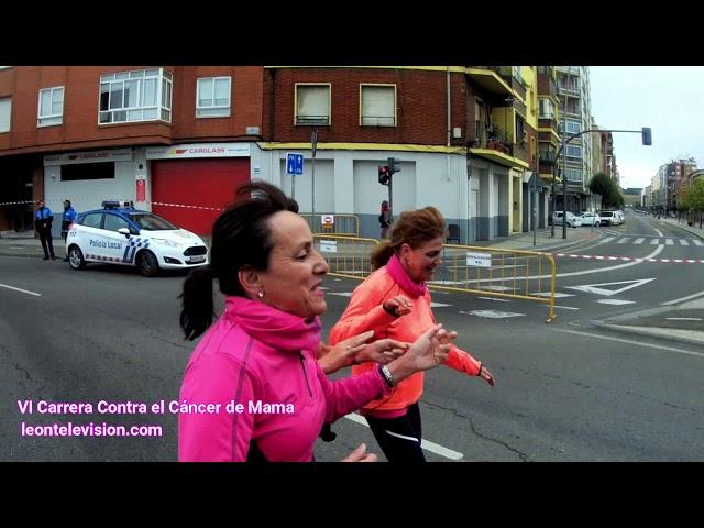 dentro VI carrera contra el cáncer de mama