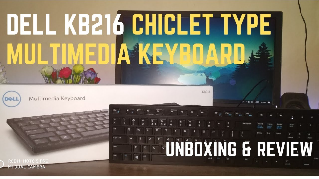 Dell KB216 keyboard unboxing and review (Bengali)