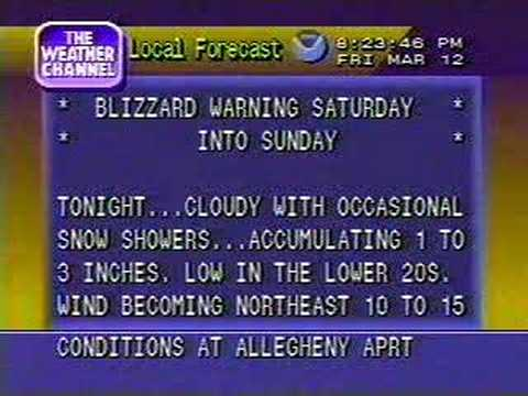 pittsburgh blizzard of 1993