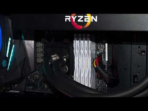 Ryzen 7 1800X 4x8 Gb Ram 3466 MHz