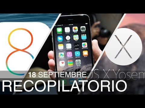 iOS 8, OS X Yosemite Preview 8 y mas noticias de Apple