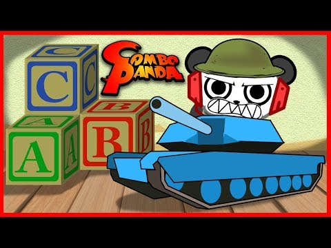 Roblox Tiny Tanks Smallest Tank Battle! Let's Play with Combo Panda!