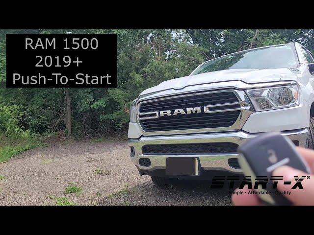 Start-X Remote Start Install, Ram 1500 PTS, 2019+