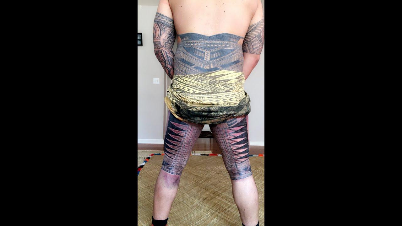 Traditional Samoan Tattoo
