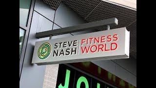 Steve Nash Fitness World Tour- Marine Gateway Mall - Vancouver, Ca Sculpt Your Body
