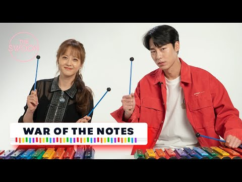 Go A-ra and Lee Jae-wook fight for musical notes and play us a song 🎶| War of the Notes [ENG SUB]
