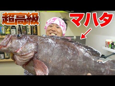 超高級魚「マハタ」を捌いて食ってみた‼