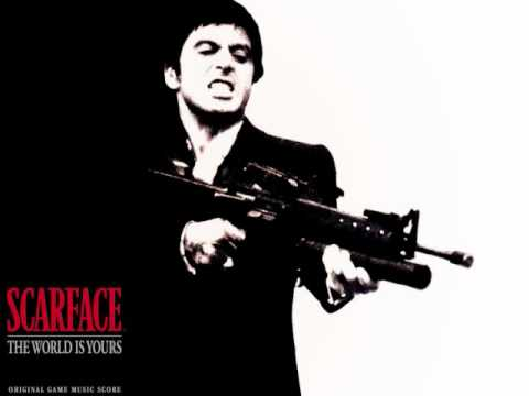 Scarface - The World I... Adventure Quotes Wallpaper