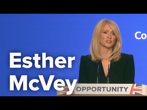 Esther McVey, Secretary of State for Work and Pensions - Conservative Party Conference 2018