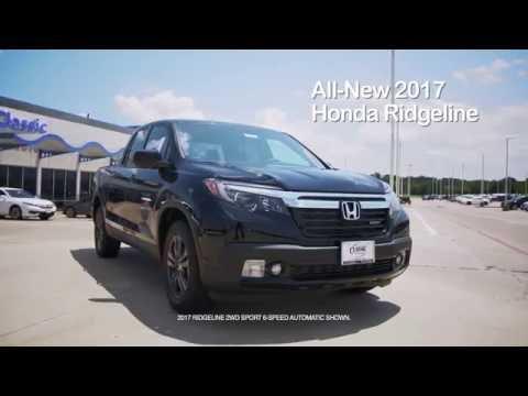 2017 Honda Ridgeline at Classic Honda of Texoma
