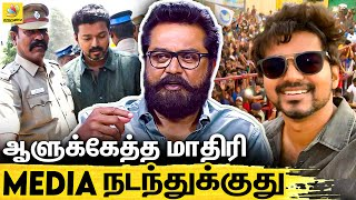 Sarathkumar Interview On Vijay IT Raid, Master