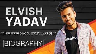 ELVISH YADAV Success Story   Biography   हिंदी