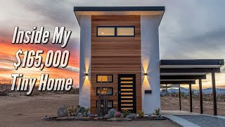 Inside My $165,000 Tiny Home In Joshua Tree, California | Hop in and Tour the Casita Conejo Harebnb!