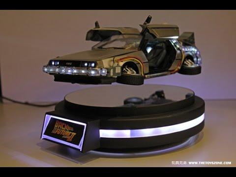 [Exclusive!] BTTF2 -Kids Logic Magnetic Floating DeLorean TESTING !
