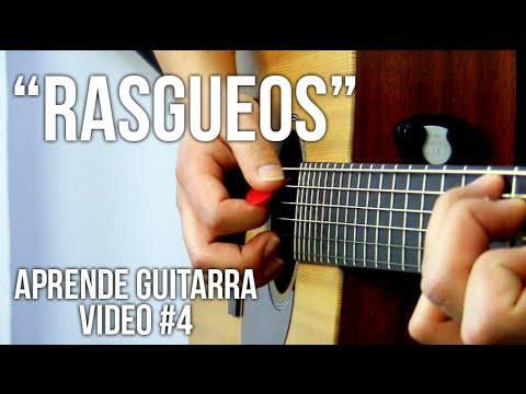 Rasgueos para guitarra, Principiantes   Aprende guitarra #4